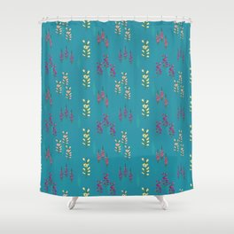Foxglove love Shower Curtain