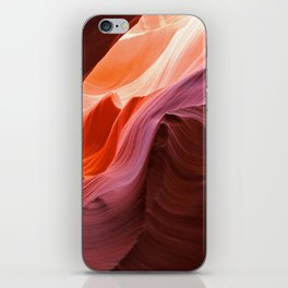 The Waves of Antelope Canyon iPhone Skin
