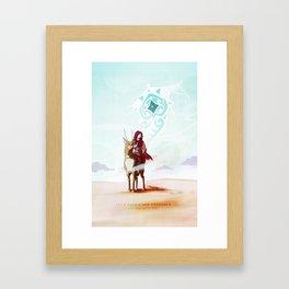 Let's make a new tomorrow Framed Art Print