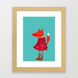 Foxy Fox Framed Art Print