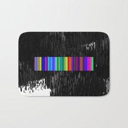 Colorful bar code Bath Mat