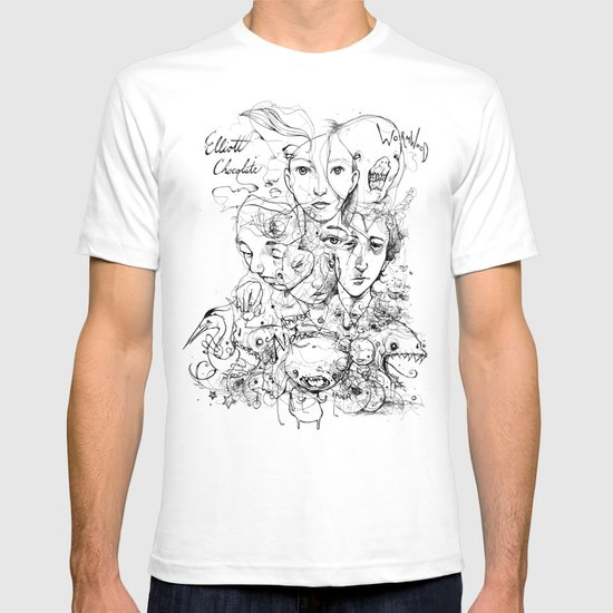 Elliott Chocolate Wormwood T-shirt