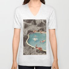 is this the place that they call paradise? Unisex V-Neck