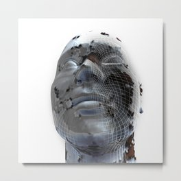 Look to the future Metal Print