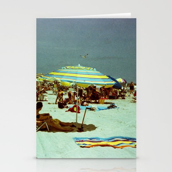 Beach, Wildwood, New Jersey Stationery Cards