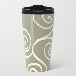 Spiral mural green Travel Mug