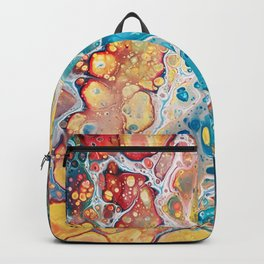 Turquiose marble Backpack