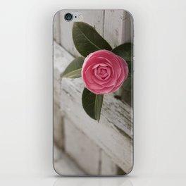 Pink Porch Flower iPhone Skin