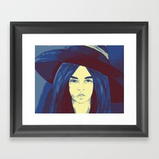 Woman 1 Framed Art Print