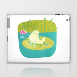 The Frog Who Would Be as Big as an Ox Laptop & iPad Skin