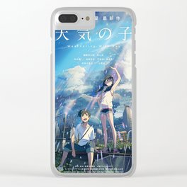 Tenki no Ko // Weathering with You Clear iPhone Case