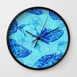 Kauai Electric Humuhumunukunukuapua`a Wall Clock