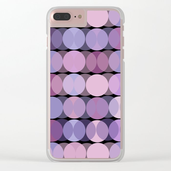 En Mauve Clear iPhone Case