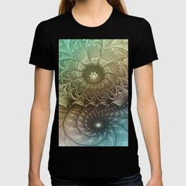 Togetherness, Fractal Art Abstract T-shirt