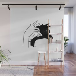 Deer shadow Wall Mural