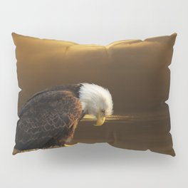 Gratitude - Bald Eagle At Prayer Pillow Sham