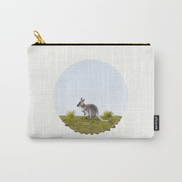 Bennett's wallaby (Macropus rufogriseus) Carry-All Pouch