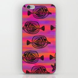 Tropical Fish Pattern iPhone Skin