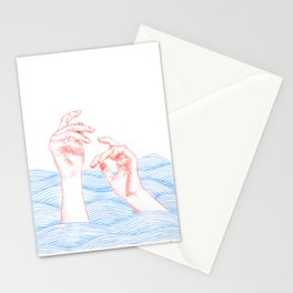 a journey to Lethe Stationery Cards
