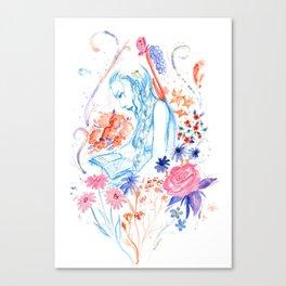 a hopeless romantic Canvas Print