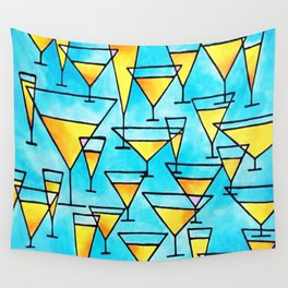 Bottoms Up! Wall Tapestry