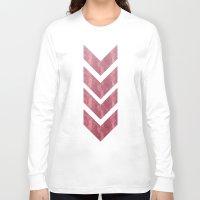 gustav klimt Long Sleeve T-shirts featuring klimt by littlehomesteadco