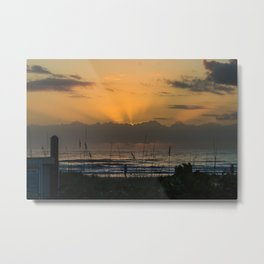 dawn of a new year Metal Print