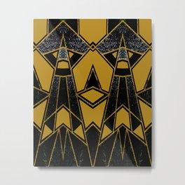 Geometric #635 Metal Print