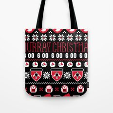 Murray Christmas Sweater Tote Bag
