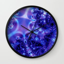 Space Frost Wall Clock