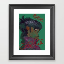 Murdoc Framed Art Print