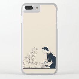 Sixteen Candles Clear iPhone Case