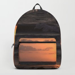Beach Sunrise Backpack