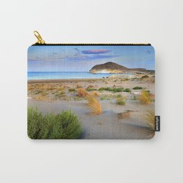 """Genoveses Beach"" Sunset at beach Carry-All Pouch"