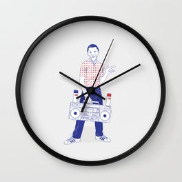 rising star Wall Clock