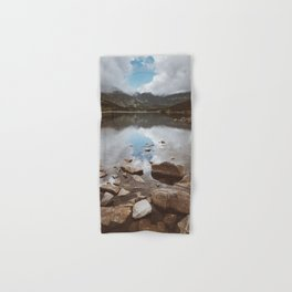 Mountain Lake - Landscape and Nature Photography Hand & Bath Towel