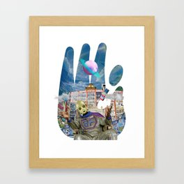 Sadahtay_Blowfly Framed Art Print