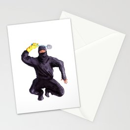 Bathroom Ninja Stationery Cards