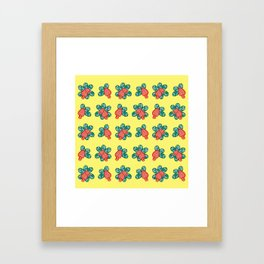 Cashew Apple Pattern 1 Framed Art Print