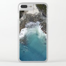 Grey River Clear iPhone Case