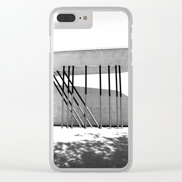 Architecture Lines Clear iPhone Case