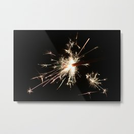 Spark In The Dark Metal Print