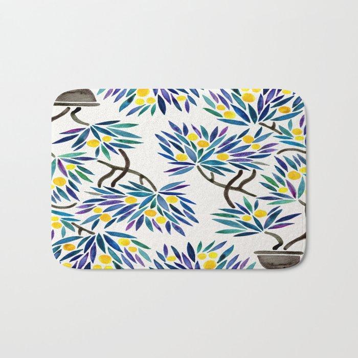 Bonsai Fruit Tree – Lemons Bath Mat