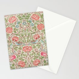 William Morris - Roses - Digital Remastered Edition Stationery Cards