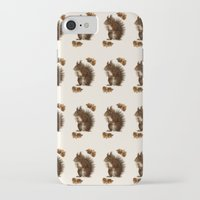 squirrel iPhone & iPod Cases featuring Squirrel by Heaven7