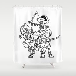 AMAZONS Shower Curtain