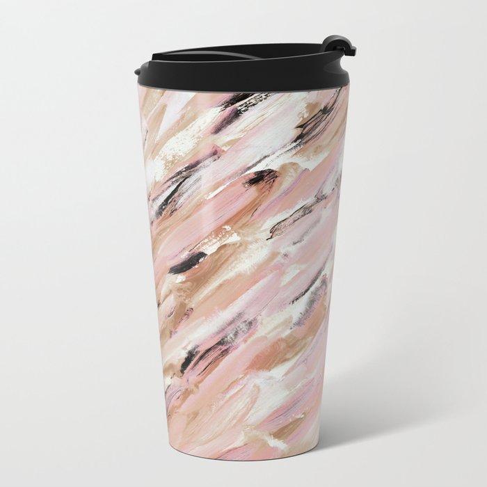 Abstract 40 Metal Travel Mug