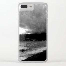 SEA LANDSCAPE IN ITALY Clear iPhone Case