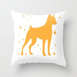 Miniature Pinscher Mommy Dog Mom Whelp Funny Gift Throw Pillow