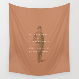 P + R Party Wall Tapestry